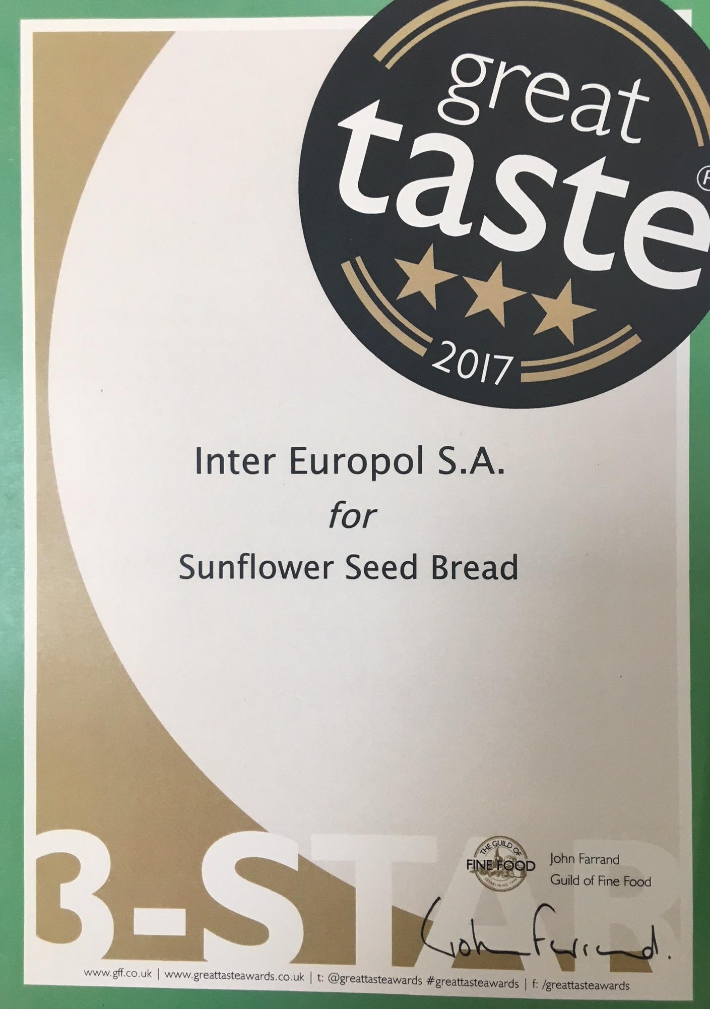 inter europol sa � polski producent pieczywa mrożonego i